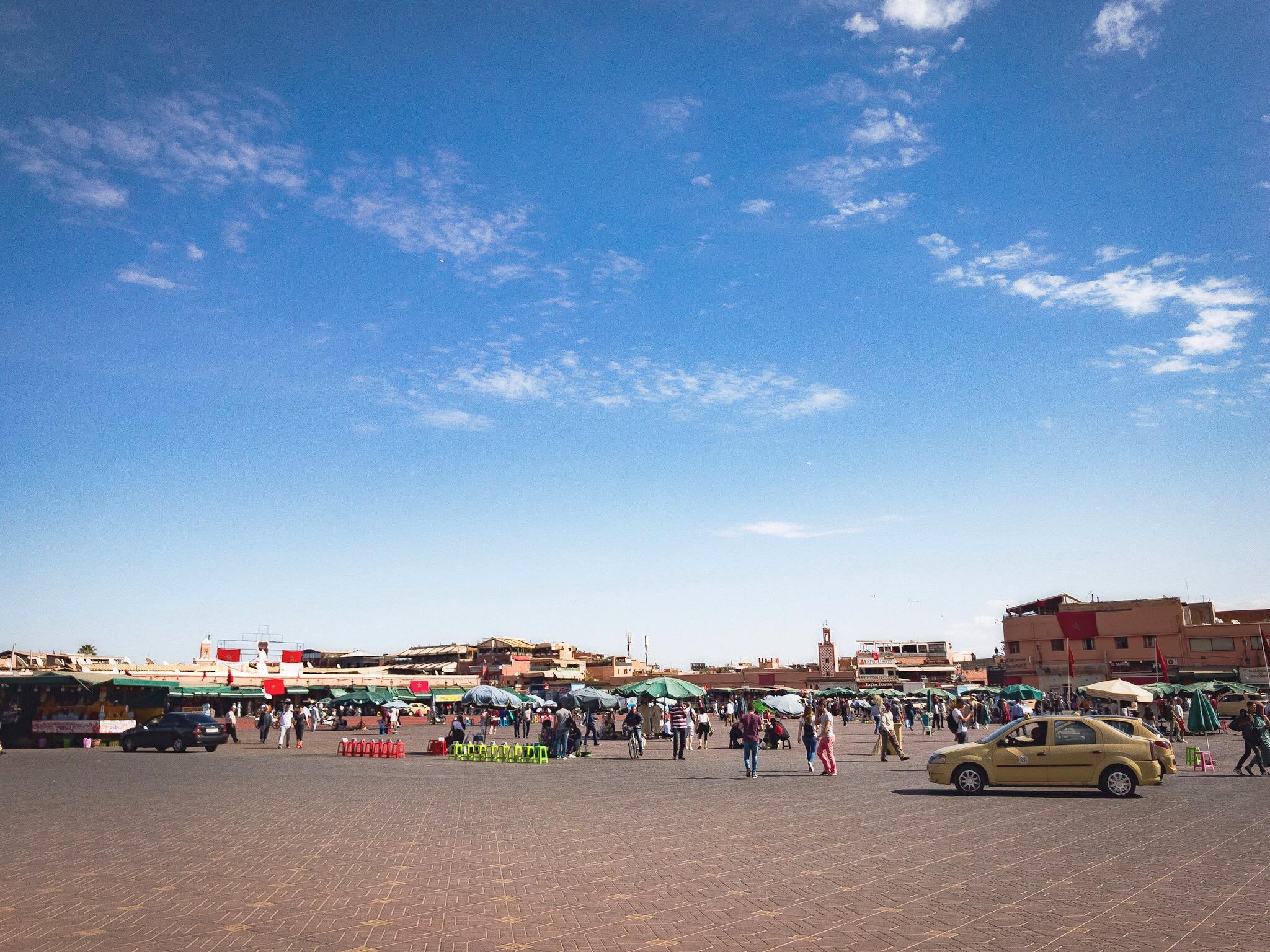 Jemaa el-Fnaa Marrakech Marrakesh